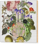 Flowerbomb Notes - By Diana Van Wood Print