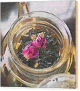 Flowering Tea  Wood Print