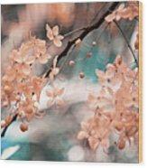 Flowering Tree. Nature In Alien Skin Wood Print