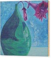 Flowerpot Wood Print