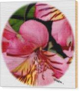 Flowers # 8728_2 Wood Print