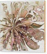 Flowers 004 Wood Print