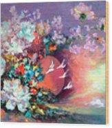 Flowers 02 Wood Print