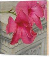 Flowers 115 Wood Print