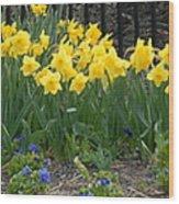 Flowers 37 Wood Print