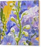 Flowers 39 Wood Print