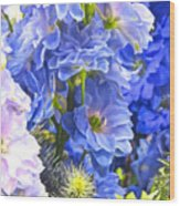 Flowers 41 Wood Print
