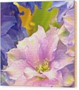 Flowers 42 Wood Print