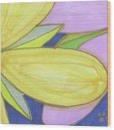 Flowers-5 Wood Print