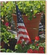 Flowers 57 Wood Print