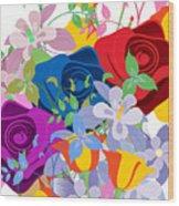 Flowers 7 Wood Print
