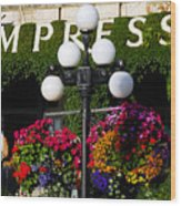 Flowers At The Empress Wood Print