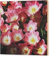 Flowers Wood Print