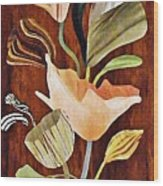 Flowers For Catherine Wood Print