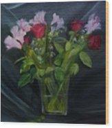 Flowers for Sarah Wood Print