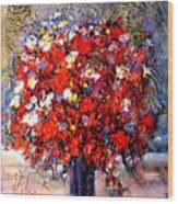 Flowers For You  Wood Print