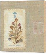 Flowers From Bethlehem  Wood Print