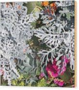 Flowers Of Boca I Wood Print