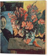Flowers Of France Wood Print