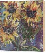 Flowers Of The Gods Wood Print