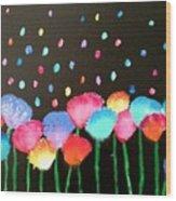 Flowers Of Urania Wood Print