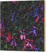 Flowerstudy9-21-09 Wood Print