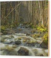 Flowing Wood Print