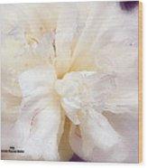 Flowing Floral Wood Print