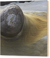Flowing Rock 1 Wood Print