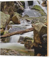 Flowing Stream Wood Print