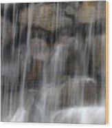 Flowing Veil Wood Print
