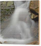 Flowing Water - Vertical Wood Print