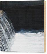 Flowing Water Of Life Wood Print