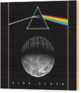 Floyd The Darkside Wood Print