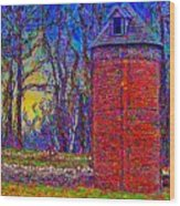Floyd,virginia Tower Wood Print