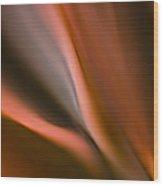 Fluid Blades Wood Print