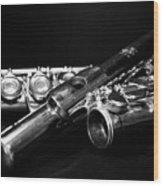 Flute Series I Wood Print