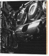 Flute Series Iv Wood Print
