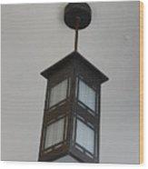 Flw Lamp Wood Print