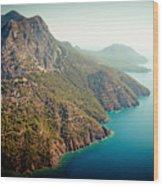 Fly Above Laguna Seascape Artmif.lv Wood Print