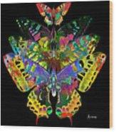 Fly Away 2017 Wood Print