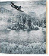 Fly Boy Wood Print