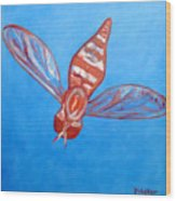 Fly South Wood Print