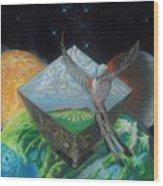 Flycatcher Wood Print