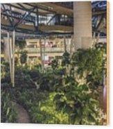 Flyer Atrium Wood Print