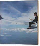 Flying 3rd Class Wood Print