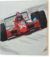 Flying Dutchman - 1990 Wood Print