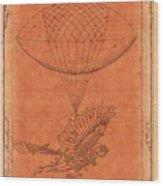 Flying Machine - 01c02 Wood Print