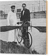 Flying Machine, 1912 Wood Print