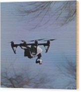 Flying Magic Wood Print